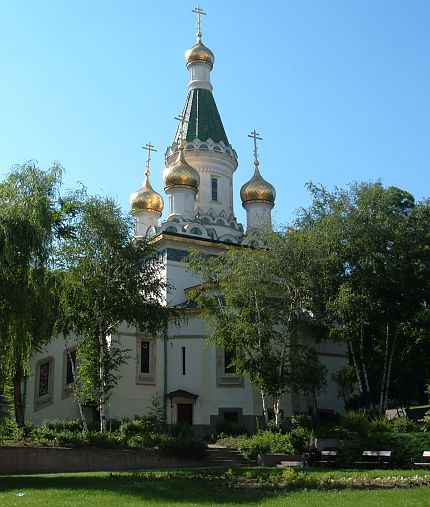 ruský kostel - The Russian Church - photo by diangelli, www.sxc.hu